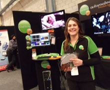 AMS at tradeshow, Auckland